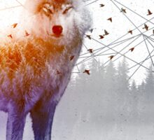 A Wilderness Within / Wolf Sticker