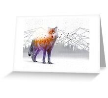 A Wilderness Within / Wolf Greeting Card