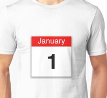 January 1st Unisex T-Shirt