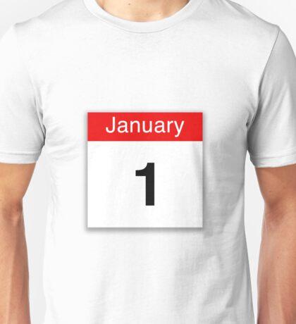 January 1st Unisex T-Shirt