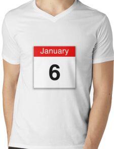January 6th Mens V-Neck T-Shirt