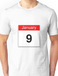 January 9th Unisex T-Shirt