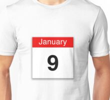 January 9th Unisex T-Shirt