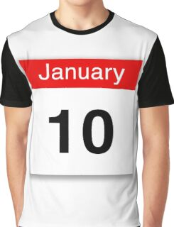 January 10th Graphic T-Shirt