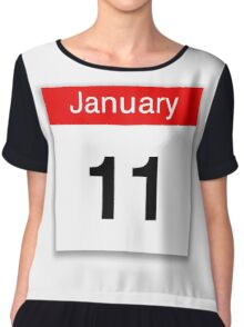 January 11th Chiffon Top