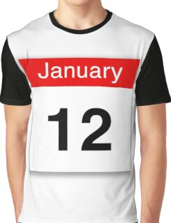 January 12th Graphic T-Shirt