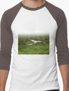 Mist in Ireland Men's Baseball ¾ T-Shirt
