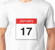 January 17th Unisex T-Shirt