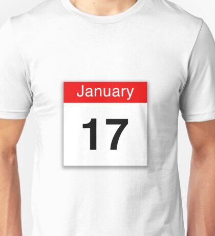 January 17th Unisex T-Shirt