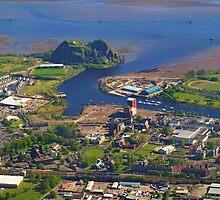Dumbarton Castle & River Clyde. Scotland by youmeus