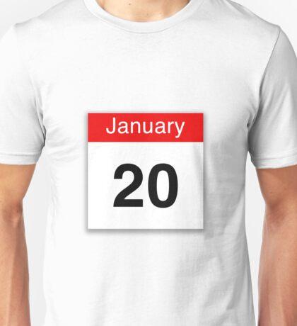 January 20th Unisex T-Shirt