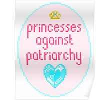 Princesses against Patriarchy Poster