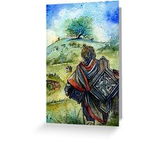 There and Back Again II Greeting Card
