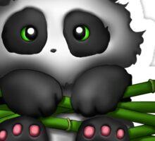 Panda Bamboo Sticker