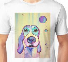 Colorful Dog Art by Valentina Miletic Unisex T-Shirt