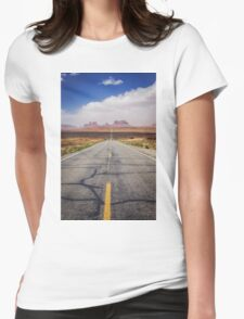 Monument Valley Womens Fitted T-Shirt