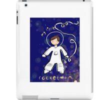 Astronaut, kids, rocketman iPad Case/Skin