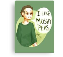 I like mushy peas - V2 Canvas Print