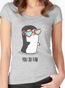 Fabulous Penguin! Women's Fitted Scoop T-Shirt