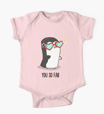 Fabulous Penguin! One Piece - Short Sleeve