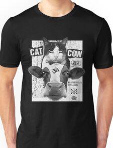 Yoga: Cat Cow Straight Edge Matinee  Unisex T-Shirt
