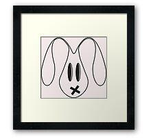 Drugs Bunny Framed Print
