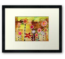 """""""Flower Garden"""" Framed Print"""
