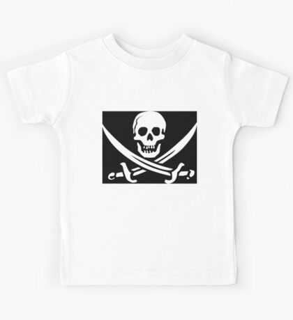 Pirate - Jolly Roger Kids Tee