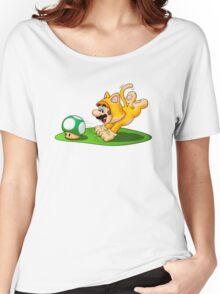 Cat Mario 1-Up Hunter Women's Relaxed Fit T-Shirt