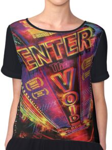 Enter the void Chiffon Top
