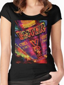 Enter the void Women's Fitted Scoop T-Shirt
