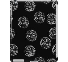 Dot Circles 4 Mono iPad Case/Skin