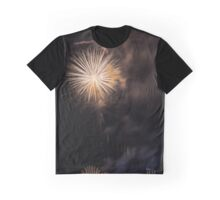 Fireworks background Graphic T-Shirt
