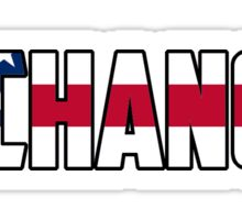 Chance the Rapper American Flag Sticker