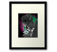 Crafting the Cosmos Framed Print
