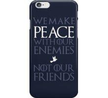 Peace (blue) iPhone Case/Skin