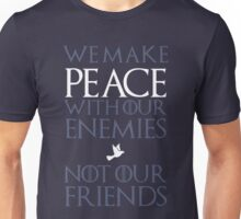 Peace (blue) Unisex T-Shirt