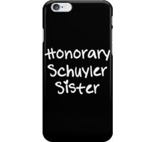 Honorary Schuyler Sister iPhone Case/Skin