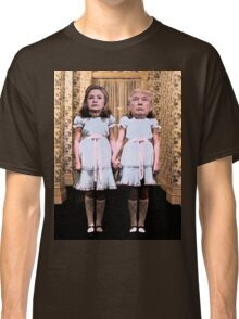 Hillary and Trump twins. Classic T-Shirt