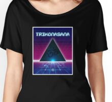 Space Age Triangle Women's Relaxed Fit T-Shirt