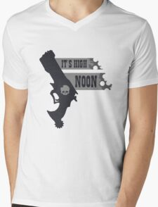 Its High Noon  Mens V-Neck T-Shirt
