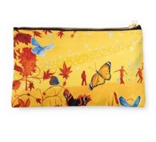 Colorful butterflies, nature, summer, spring, atum, happiness and love Studio Pouch