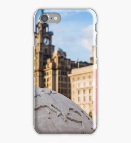 Liverpool - centre of the world. iPhone Case/Skin