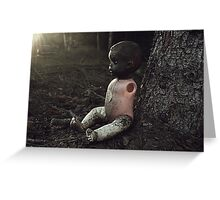Doll from hell Greeting Card