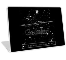 Gemini Star-Chart Laptop Skin