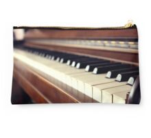 Acoustic Piano Keys Studio Pouch