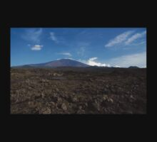 Etna Did This - the Lava Fields and the Volcano  Kids Tee