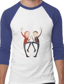 U+ME=OTP AMYxRORY Men's Baseball ¾ T-Shirt