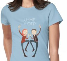 U+ME=OTP AMYxRORY Womens Fitted T-Shirt