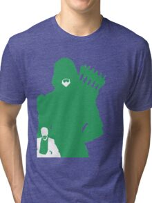 Green Arrow Silhouette Tri-blend T-Shirt